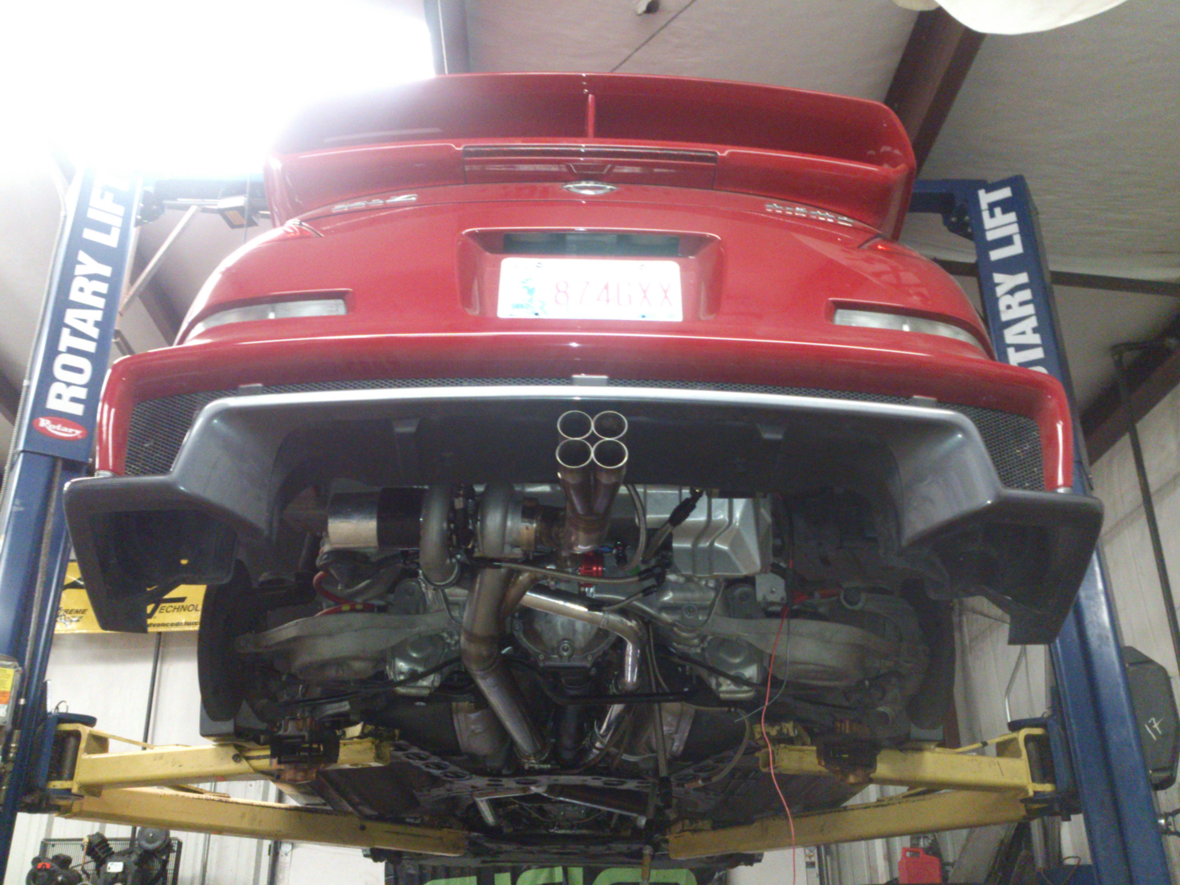 Mazda 929 Body Kit Rhino Lip Front Spoiler Body Kit For